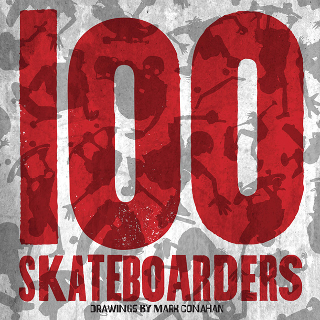 100 Skateboarders book cover